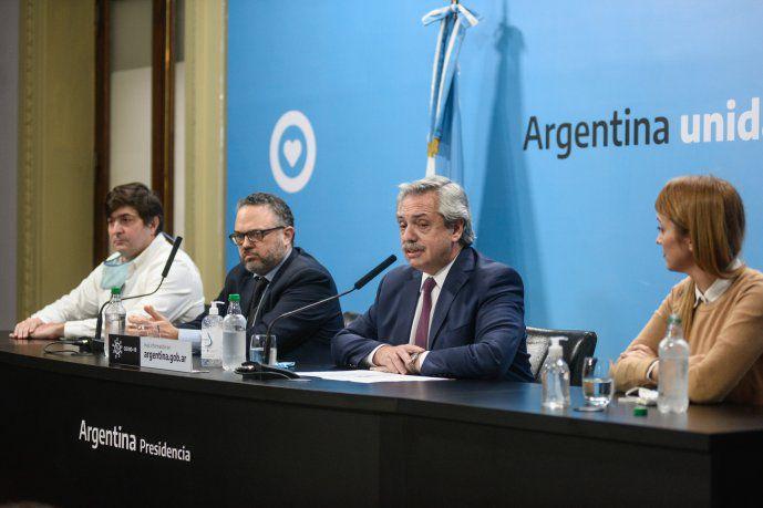 El presidente, Alberto Fernández, anunció la intervención de la empresa Vicentin y el envío al Congreso de un proyecto de ley para su expropiación.